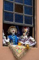 fröhliches Fenster foto