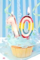 zehnter Geburtstag des Jungen