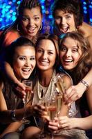 Party in vollem Gange foto