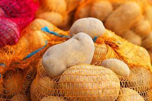 Kartoffeln im Sack foto