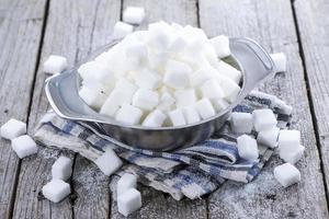 weißer Zucker foto