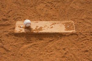 Baseball auf dem Krughügel