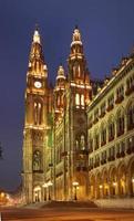 Rathaus in Wien. Österreich foto