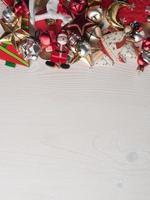 Weihnachtsschmuck, Kopierraum foto