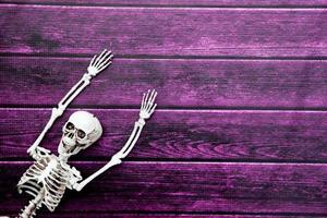 Halloween-Hintergrund mit Kopierraum foto