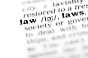 Recht (das Wörterbuchprojekt) foto