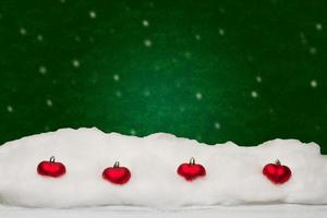 festliche Weihnachtskarte foto