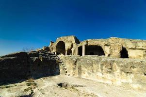 uplistsikhe ist eine alte Felsenstadt in Ostgeorgien.
