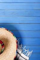 mexikanischer Hintergrund mit Copyspace foto