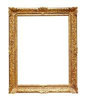 klassischer goldener Bilderrahmen foto