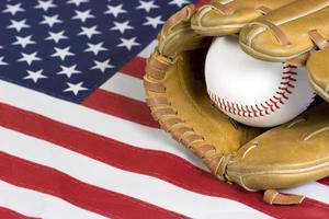 amerikanischer Baseball foto