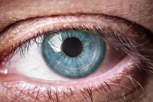 menschliches Auge foto