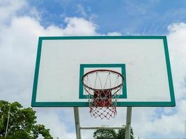 Basketballkorb. foto