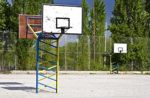 Basketball im Freien foto