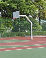 Basketballplatz im Freien foto