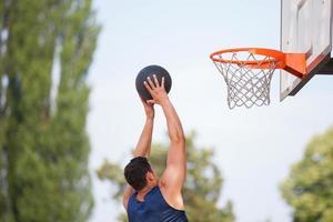 Basketball-Spieler foto