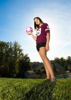 Volleyballspieler wagen foto