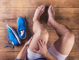 verletzter Läufer
