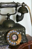 altes Telefon Nahaufnahme foto