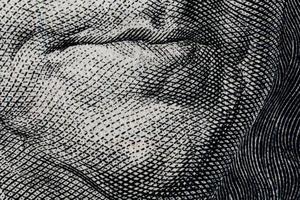 Nahaufnahme der Währung. foto