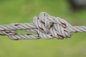 Seilknoten Nahaufnahme
