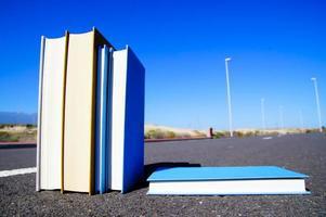 auf der Straße Literaturkonzept