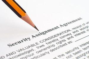Sicherheitsabkommen foto