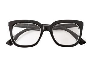 schwarze Brille foto