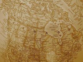 Kanada - Sepia-Ton foto