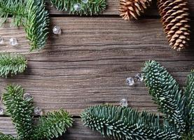 Weihnachtstabelle Hintergrund foto