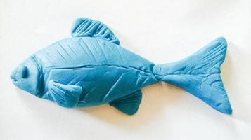 Knetmasse Fisch