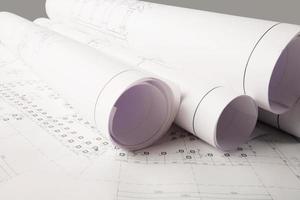 Entwürfe eines neuen Hauses foto