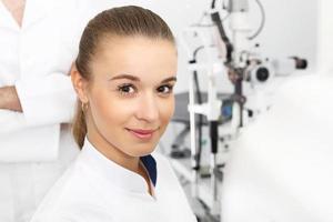 Augenheilkunde, Augenarztpraxis. foto
