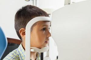 beim Optiker foto
