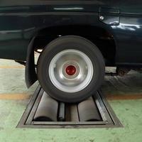 Bremsprüfsystem des Autos foto