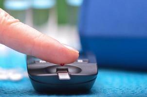Blutzuckermessgerät foto