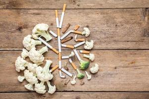 die Lunge des Rauchers foto