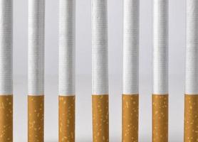 Rauchen ist ein Gefängnis foto