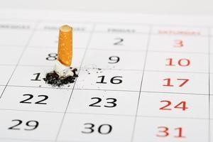 mit dem Rauchen aufhören foto