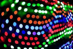 abstrakte Bokeh Weihnachtslichter foto