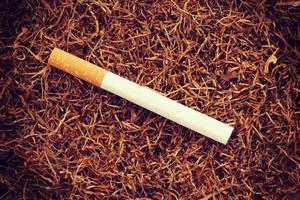 Zigarette alten Retro Vintage-Stil foto