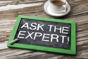 Fragen Sie das Expertenkonzept