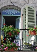 französischer Balkon foto