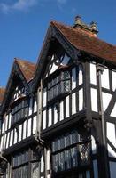Gebäude im Tudorstil foto