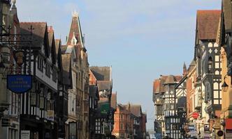 Chester Stadtzentrum foto