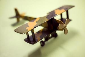 Avión Fondo Verde foto