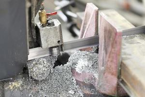 Stahlschneiden foto