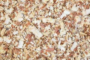 Holz Sägemehl Textur Hintergrund foto
