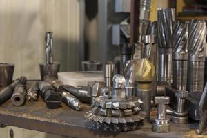Metallbearbeitungswerkzeuge foto