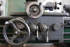Stahldrehmaschine foto